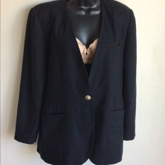 Worthington Jackets & Blazers - Worthington Lined Black Jacket Size 14